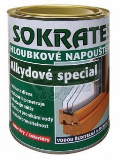 Sokrates napouštědlo alkyd special 0,7kg